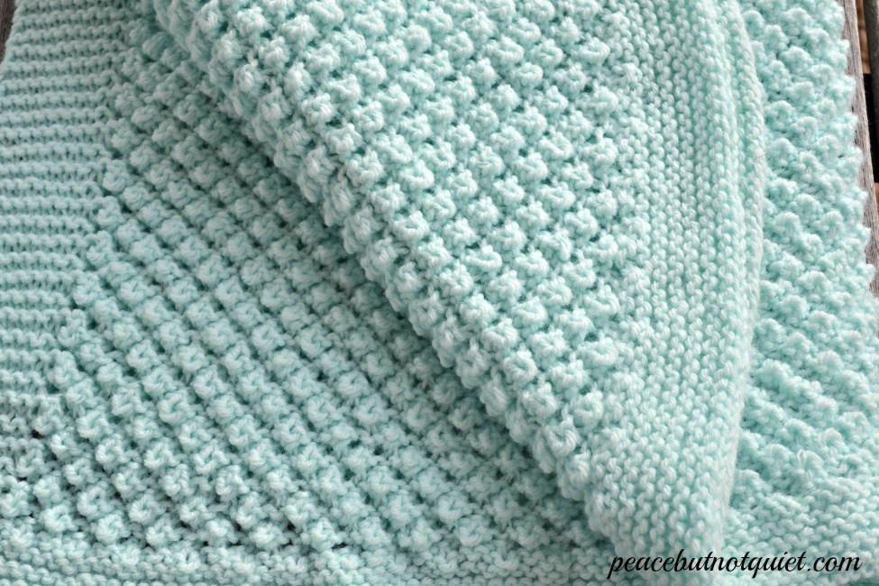 Easy Baby Blanket Knitting Pattern New Easy Knitting Patterns Popcorn Baby Blanket Of Amazing 43 Images Easy Baby Blanket Knitting Pattern