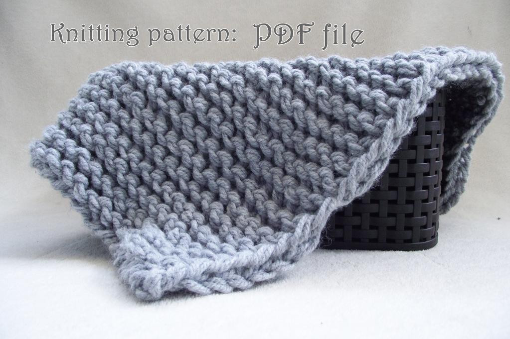 Patterns to Make Knitting Garter Stitch Not Boring