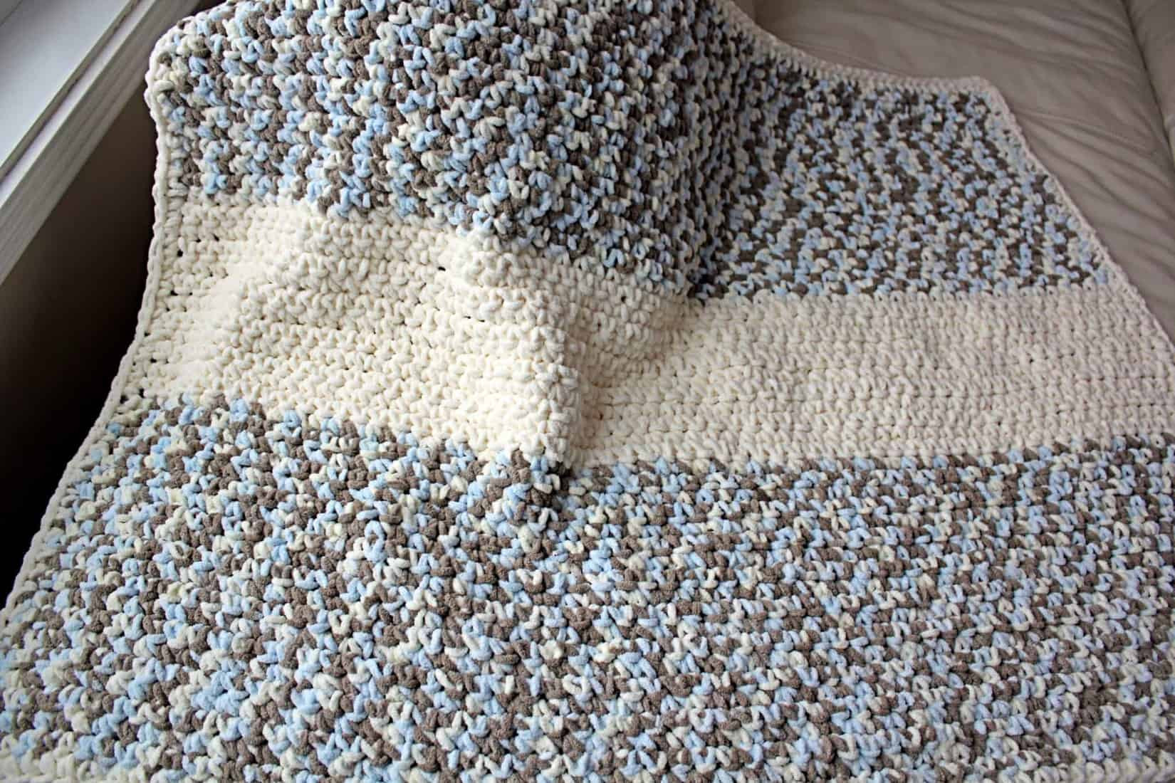 Easy Baby Blanket Lovely Diy Lux Crochet Baby Blanket with Free Pattern Of Marvelous 42 Images Easy Baby Blanket