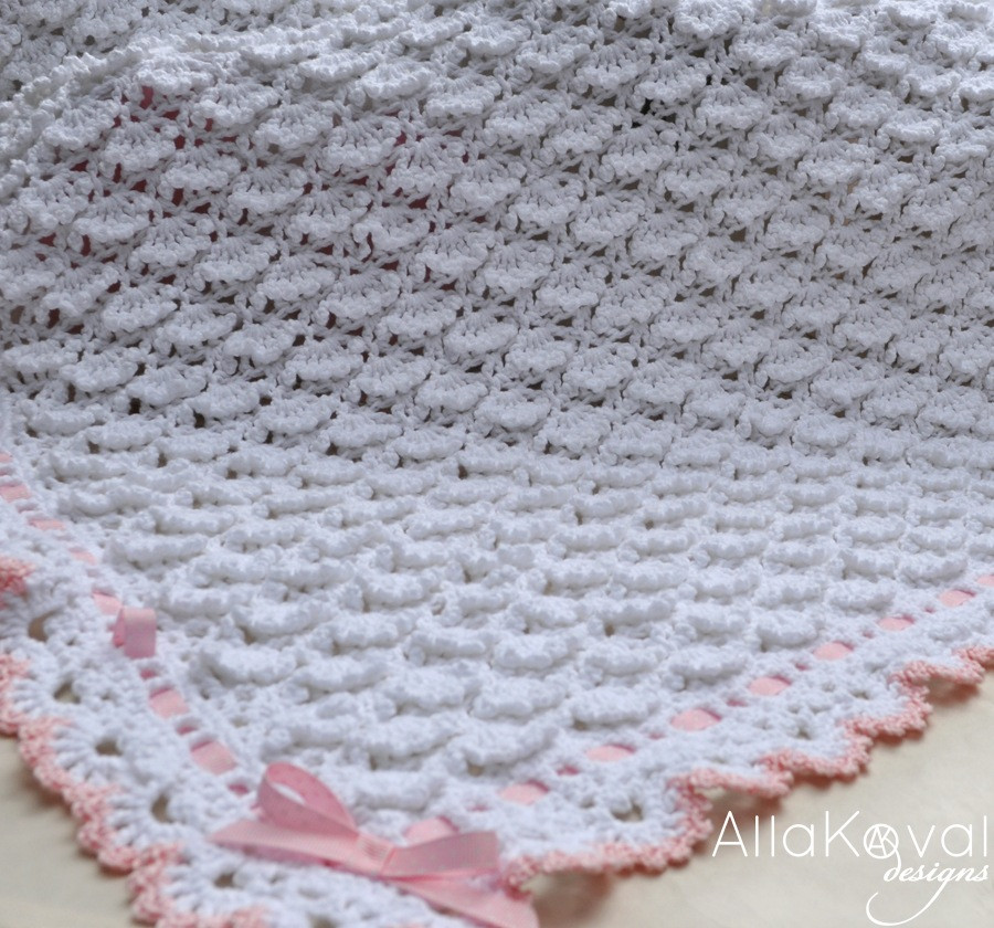 Easy Baby Blanket Patterns Unique Fluffy Clouds Crochet Baby Blanket Pattern for Babies Of Superb 48 Ideas Easy Baby Blanket Patterns