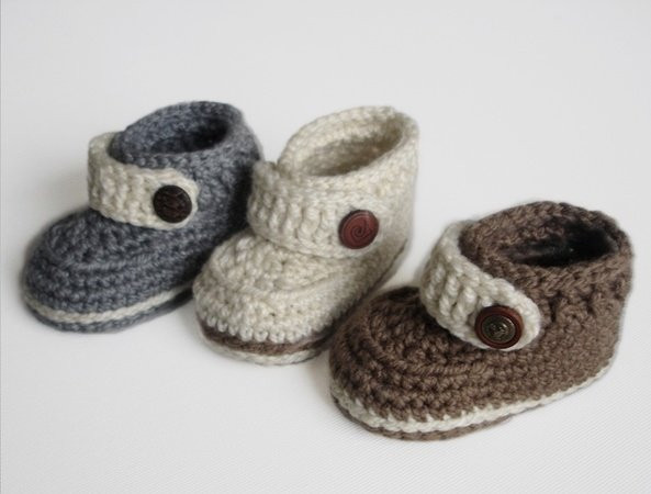 Easy Baby Booties Crochet Pattern Inspirational Easy Crochet Pattern Baby Booties Baby Shoes for Boy or Girl Of Innovative 47 Ideas Easy Baby Booties Crochet Pattern