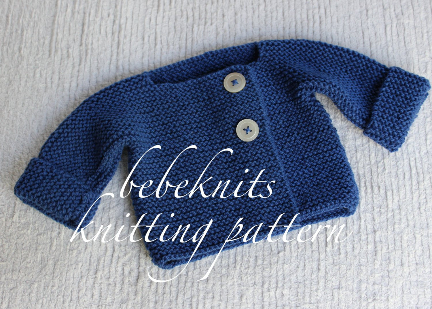 Easy Baby Knitting Patterns Luxury Bebeknits Simple French Style Lightweight Baby Cardigan Of Innovative 50 Photos Easy Baby Knitting Patterns