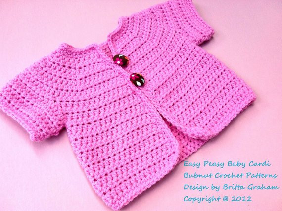 Easy Baby Sweater Crochet Pattern Best Of Crochet Baby Jacket Pattern Easy Peasy Cardigan Crochet Of Great 47 Photos Easy Baby Sweater Crochet Pattern