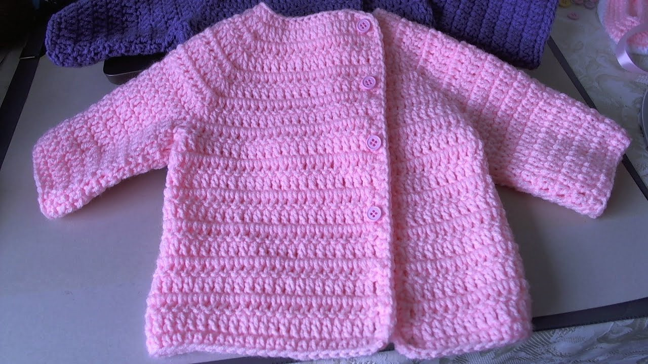 Easy Baby Sweater Crochet Pattern Fresh Easy Crochet Baby Sweater Youtube La S Sweater Patterns Of Great 47 Photos Easy Baby Sweater Crochet Pattern