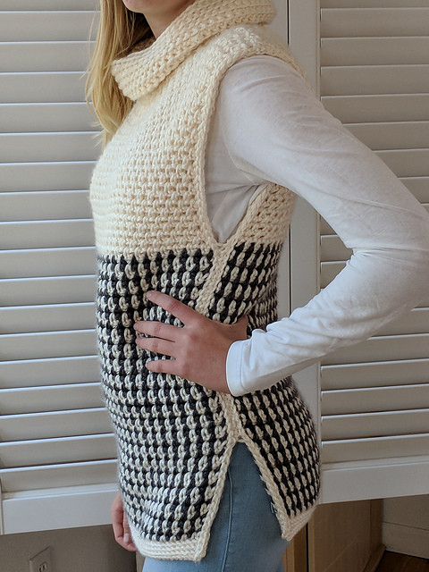 Easy Baby Sweater Crochet Pattern Inspirational Easy Cowled Sweater Vest Crochet Pattern Of Great 47 Photos Easy Baby Sweater Crochet Pattern