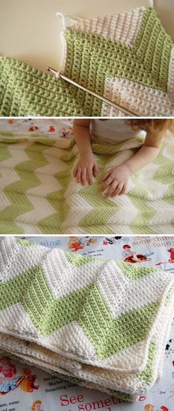 Easy Chevron Crochet Pattern Luxury 45 Quick and Easy Crochet Blanket Patterns for Beginners Of Marvelous 50 Models Easy Chevron Crochet Pattern