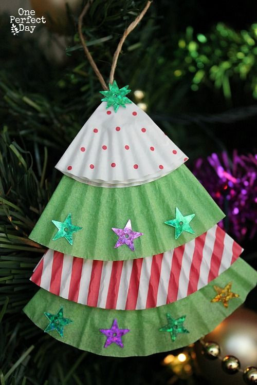 Easy Christmas ornaments Beautiful Christmas Crafts for Kids Of Superb 49 Pics Easy Christmas ornaments