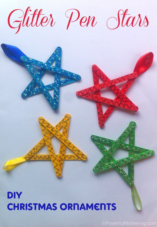 Easy Christmas ornaments Beautiful Easy Christmas Crafts for Kids Craft Stick Stars Of Superb 49 Pics Easy Christmas ornaments