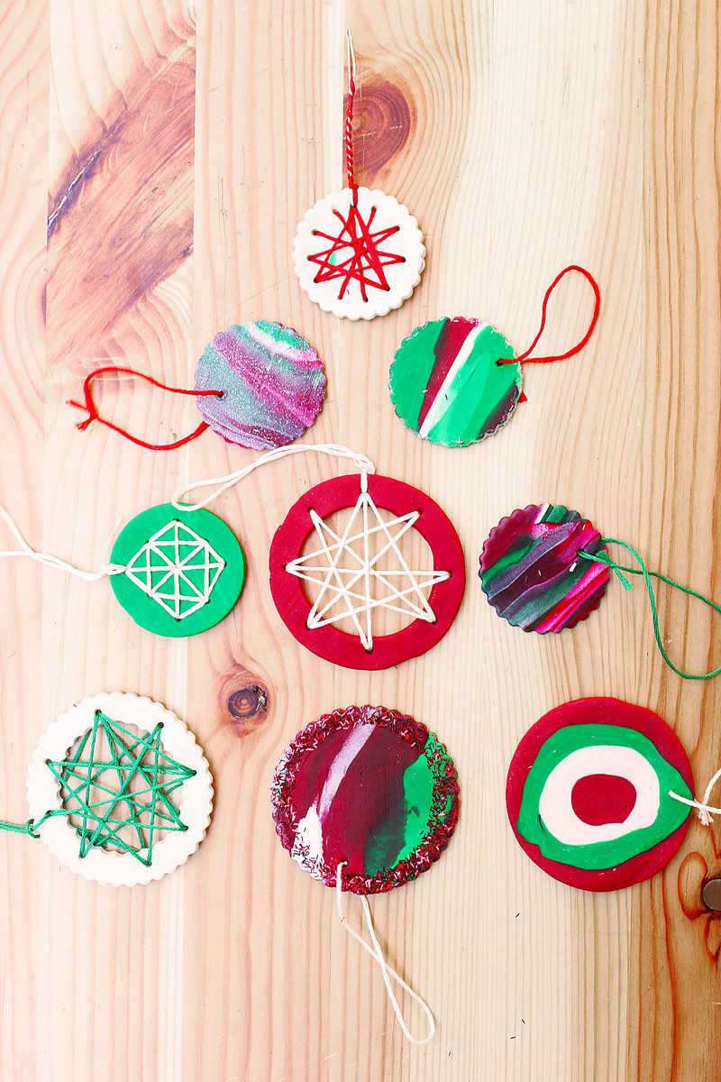 Easy Christmas ornaments Lovely Homemade Christmas ornaments with Polymer Clay Babble Of Superb 49 Pics Easy Christmas ornaments