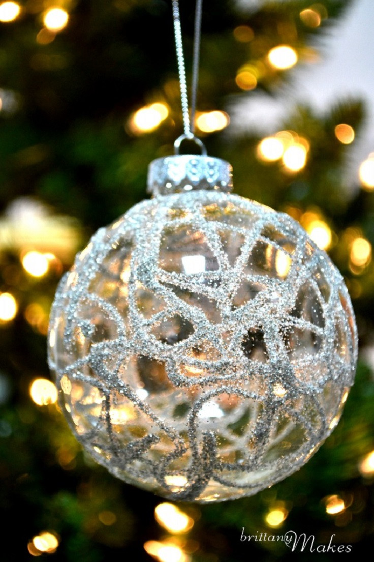 Easy Christmas ornaments to Make Awesome top 10 Diy Christmas ornaments Of Incredible 43 Models Easy Christmas ornaments to Make