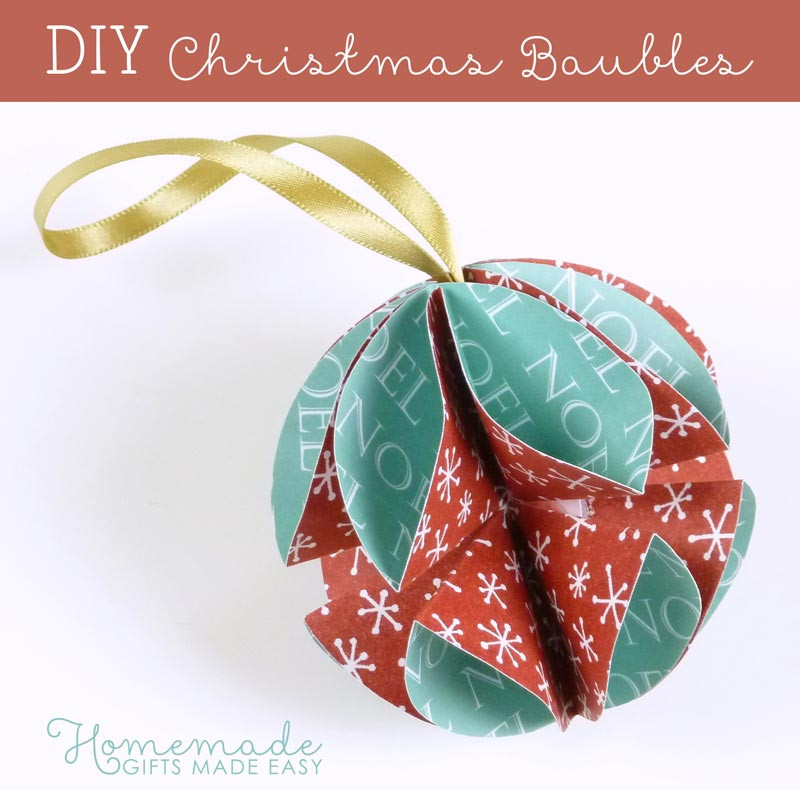 Easy Christmas ornaments to Make Best Of Simple Homemade Christmas ornaments Of Incredible 43 Models Easy Christmas ornaments to Make