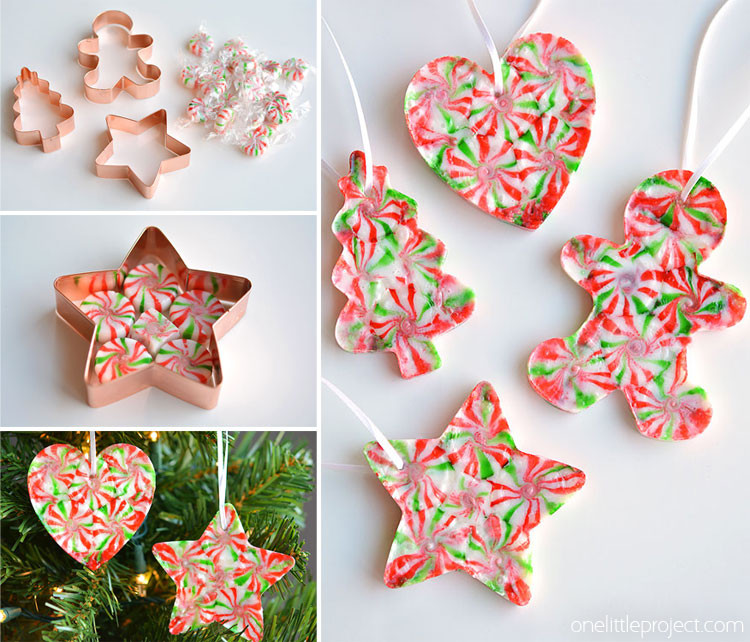 Easy Christmas ornaments to Make Fresh Melted Peppermint Candy ornaments Of Incredible 43 Models Easy Christmas ornaments to Make