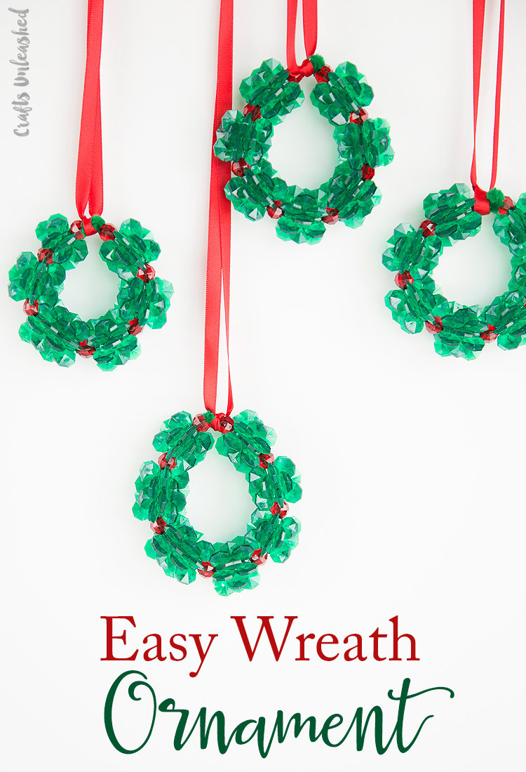 Easy Christmas ornaments to Make Lovely Christmas Crafts for Kids Beaded ornament Wreaths Of Incredible 43 Models Easy Christmas ornaments to Make