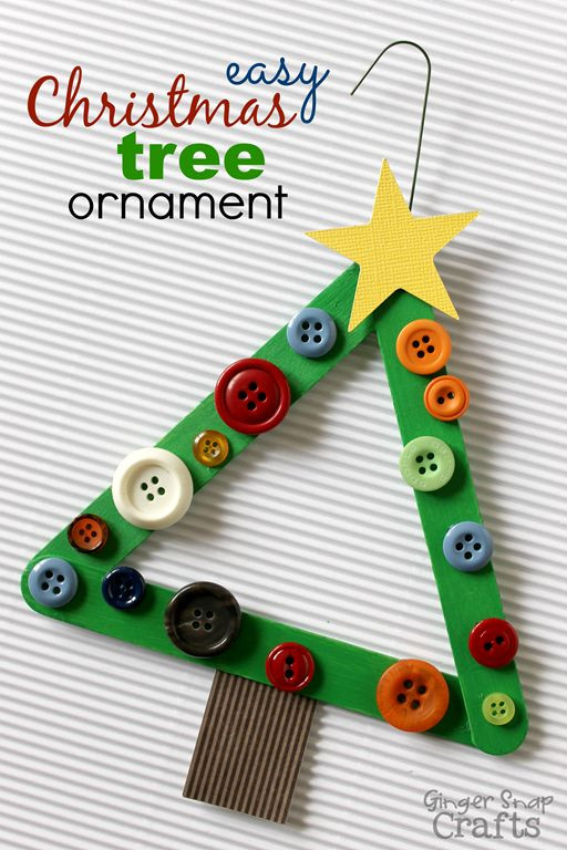 Easy Christmas ornaments Unique Christmas Crafts for Kids Of Superb 49 Pics Easy Christmas ornaments