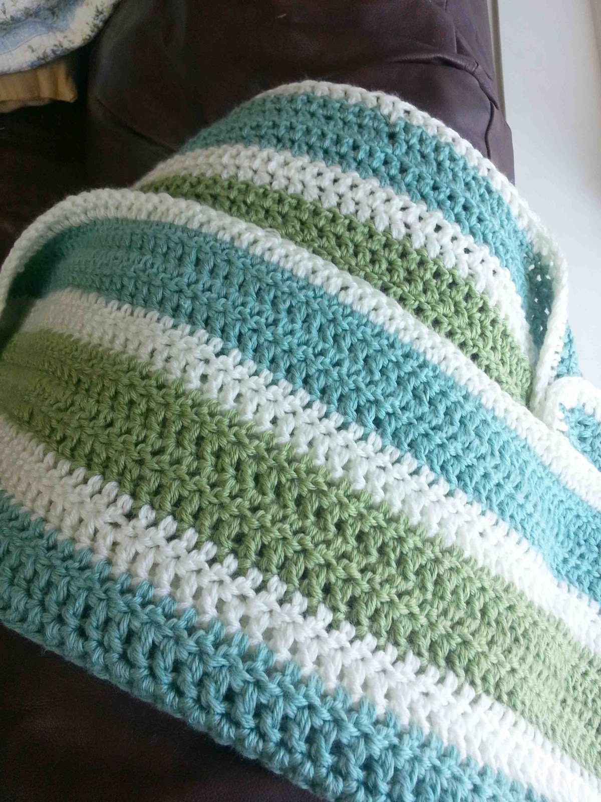 Easy Crochet Afghan Inspirational Made by Me D with You Striped Crochet Afghan Of Charming 48 Images Easy Crochet Afghan