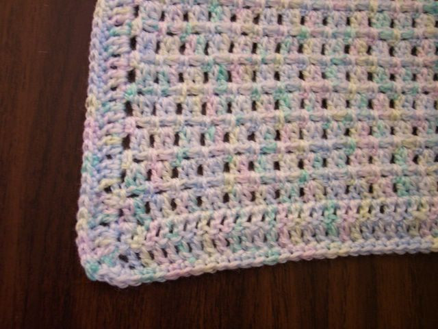 free pattern insanely easy and fast this baby blanket is a total stunner