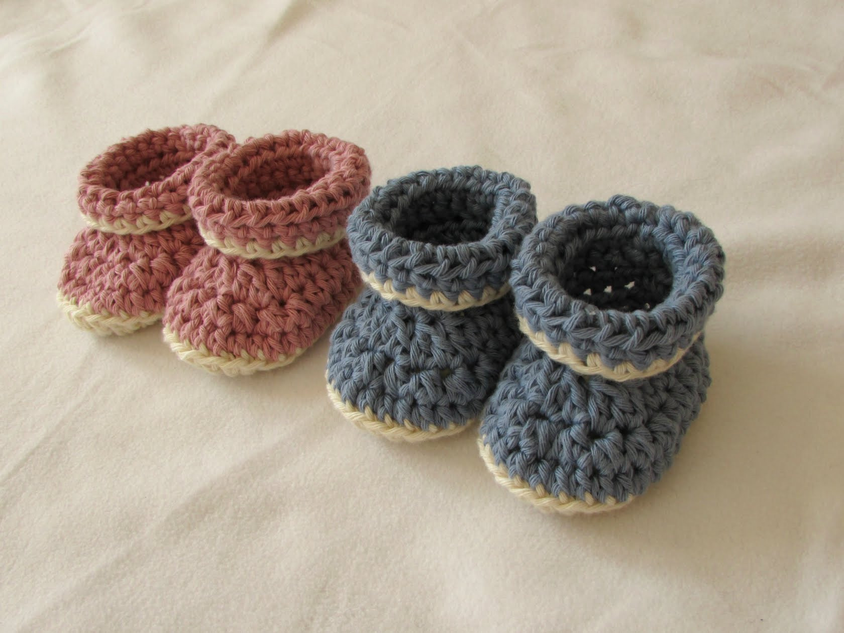 36 Easy & Free Crochet Baby Booties Patterns for Your Angel
