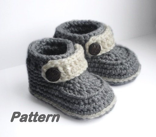 Easy Crochet Baby Booties Beautiful Easy Crochet Pattern Baby Booties Baby Shoes for Boy or Girl Of Great 49 Ideas Easy Crochet Baby Booties