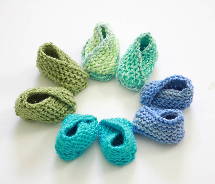 Easy Crochet Baby Booties Inspirational Easiest Baby Booties Ever [knitting Pattern] Gina Michele Of Great 49 Ideas Easy Crochet Baby Booties