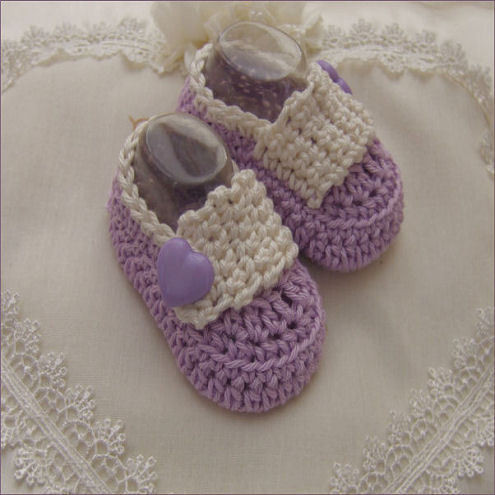 BABY BOOTIE CROCHETED PATTERN Free Patterns