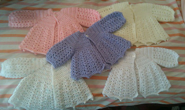 Easy Crochet Baby Sweater New Crochet Lace for Baby 10 Gorgeous Free Patterns Of Gorgeous 42 Models Easy Crochet Baby Sweater