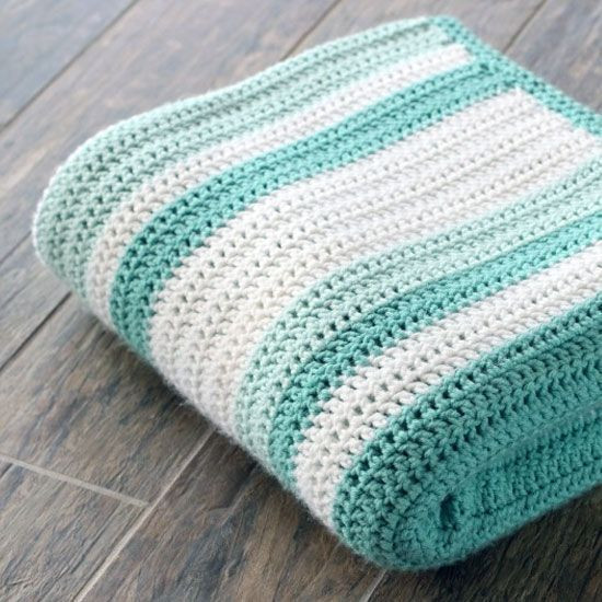 Gorgeous double crochet afghan and pattern Perfect for a
