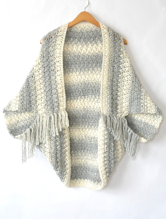 Easy Blanket Sweater Pattern To Keep You Looking Hot When