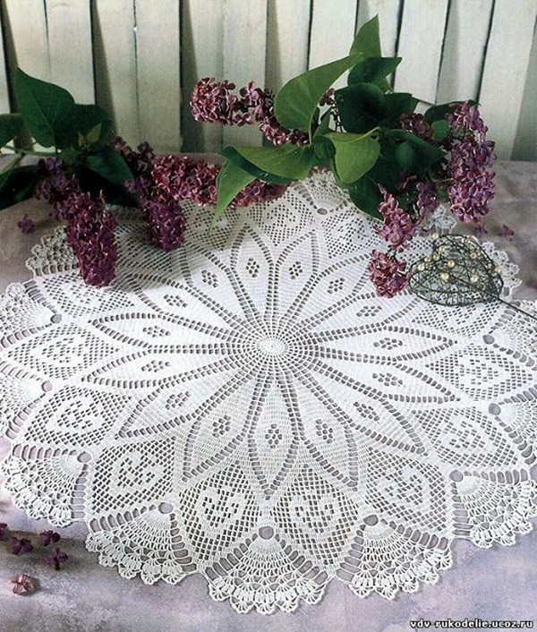 Easy Crochet Doily Awesome 40 Pretty and Easy Crochet Doily for Beginners Bored Art Of New 41 Pics Easy Crochet Doily