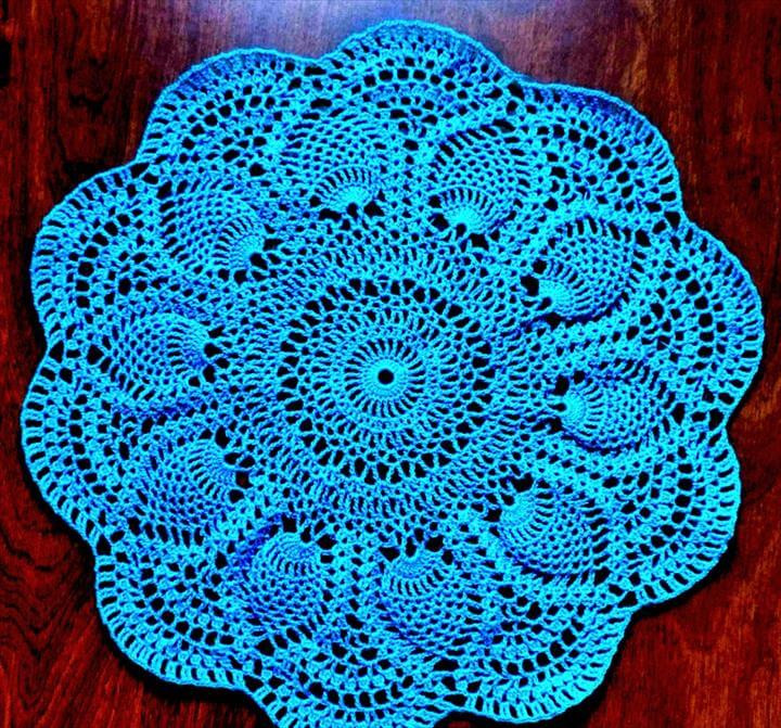 42 quick easy crochet doily pattern