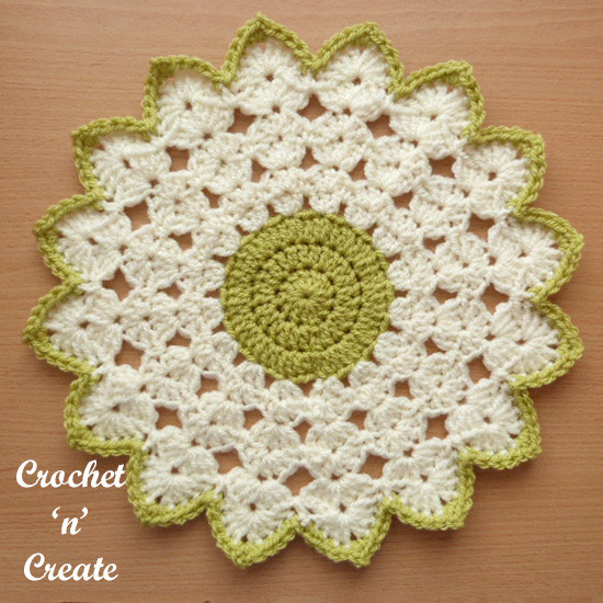 Easy Crochet Doily Elegant Crochet Round Doily Free Crochet Pattern Crochet N Create Of New 41 Pics Easy Crochet Doily