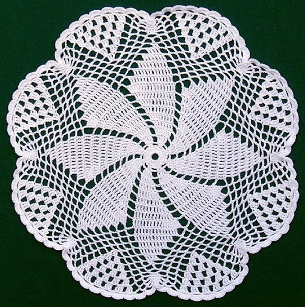 Easy Crochet Doily Fresh 40 Pretty and Easy Crochet Doily for Beginners Bored Art Of New 41 Pics Easy Crochet Doily