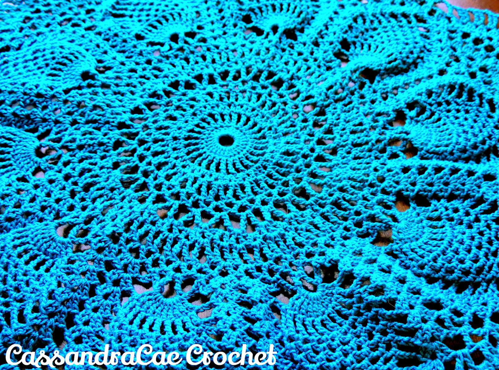 Easy Crochet Doily Fresh Pink Pineapple Doily Free Crochet Pattern Of New 41 Pics Easy Crochet Doily
