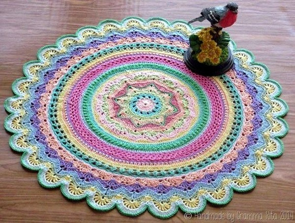 Easy Crochet Doily New 40 Pretty and Easy Crochet Doily for Beginners Bored Art Of New 41 Pics Easy Crochet Doily