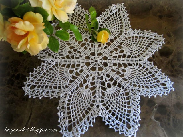 Easy Crochet Doily New Lacy Crochet Easy Pineapple Doily Of New 41 Pics Easy Crochet Doily