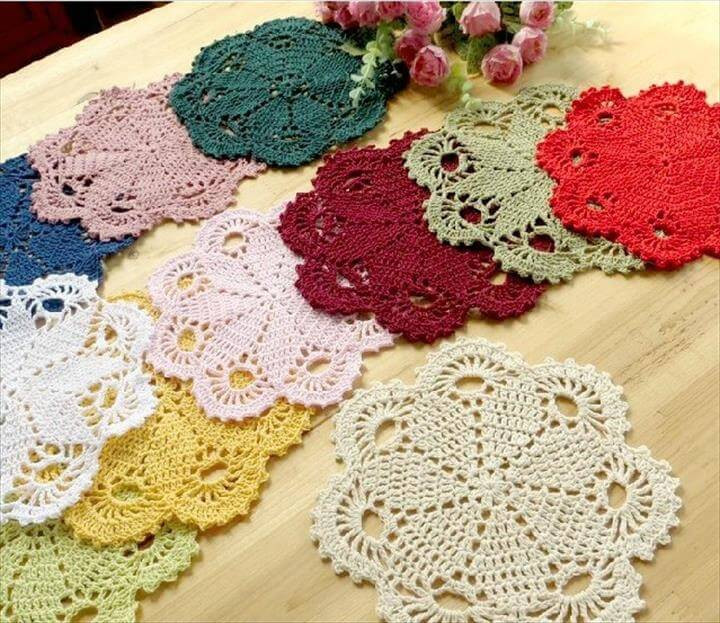 Easy Crochet Doily Patterns Awesome 42 Quick & Easy Crochet Doily Pattern Of Adorable 43 Pictures Easy Crochet Doily Patterns