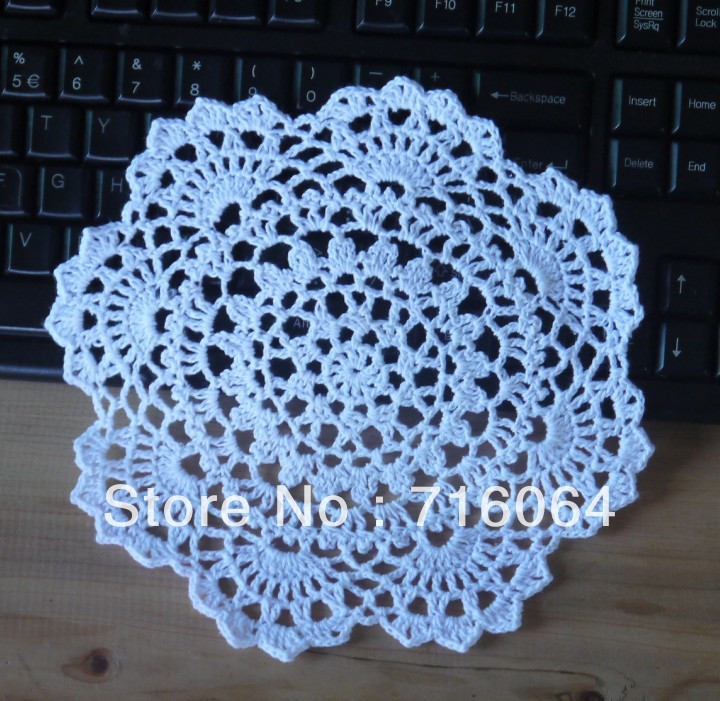 Revive vintage crochet with free crochet doily patterns