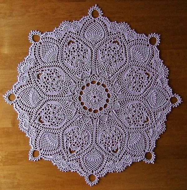 Easy Crochet Doily Patterns Best Of 40 Pretty and Easy Crochet Doily for Beginners Bored Art Of Adorable 43 Pictures Easy Crochet Doily Patterns