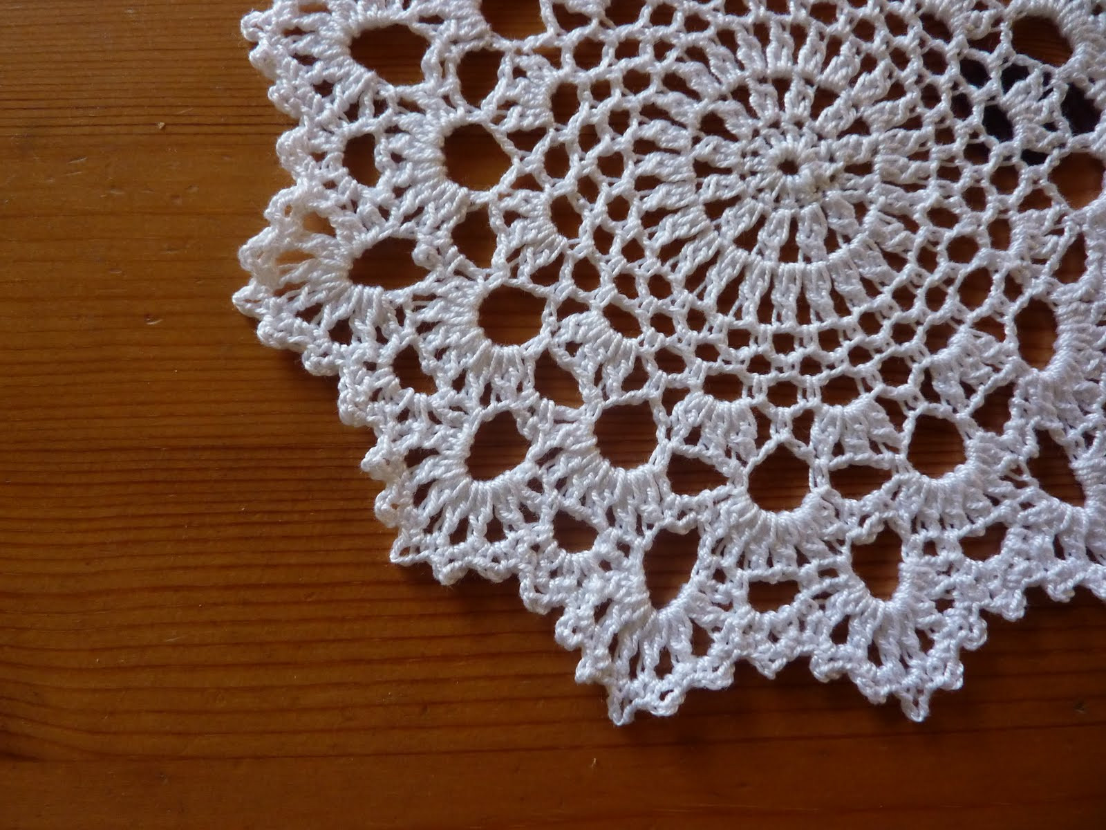 Yellow Pink and Sparkly Another Doily