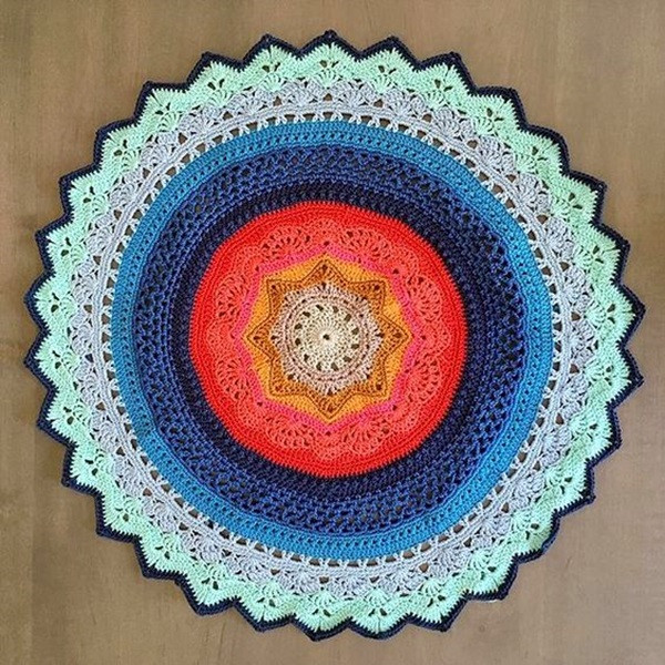 Easy Crochet Doily Patterns New 40 Pretty and Easy Crochet Doily for Beginners Bored Art Of Adorable 43 Pictures Easy Crochet Doily Patterns