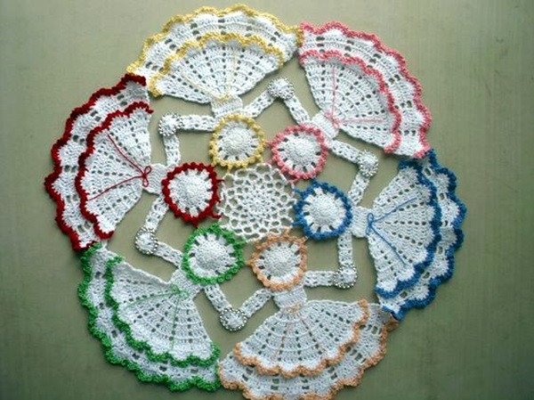 Easy Crochet Doily Patterns Unique 40 Pretty and Easy Crochet Doily for Beginners Bored Art Of Adorable 43 Pictures Easy Crochet Doily Patterns