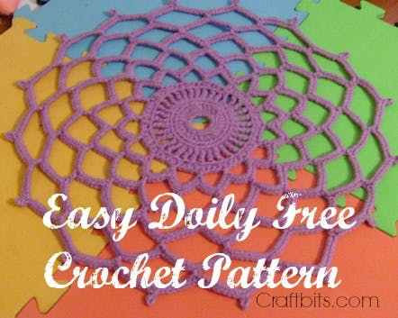 Easy Crochet Doily Patterns Unique Easy Crochet Doily — Craftbits Of Adorable 43 Pictures Easy Crochet Doily Patterns