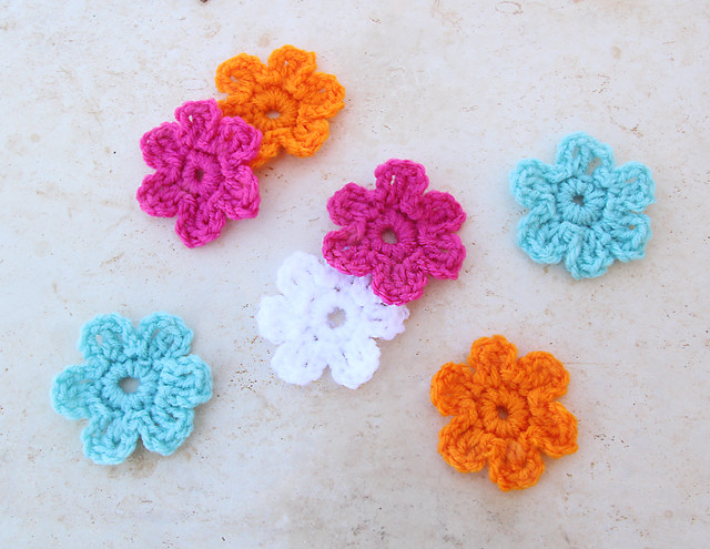 Easy Crochet Flower Awesome Quick Five Minute Crocheted Flower Creative Jewish Mom Of Perfect 42 Models Easy Crochet Flower