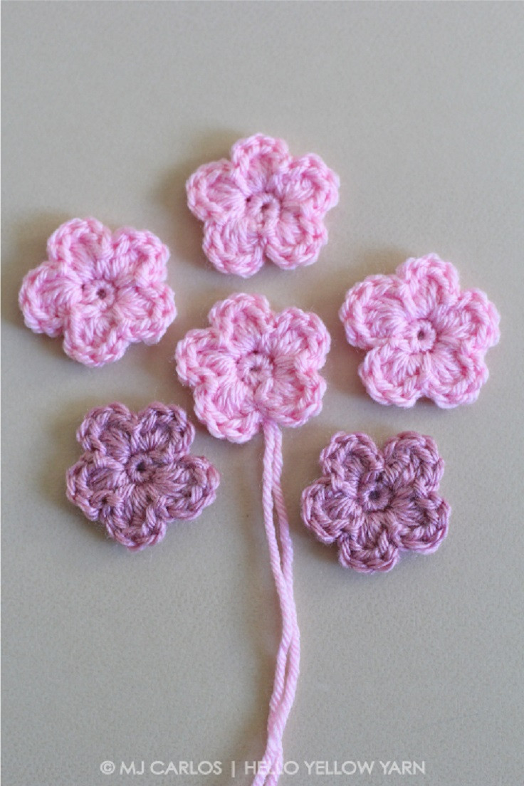 Easy Crochet Flower Best Of 11 Easy and Simple Free Crochet Flower Patterns and Tutorials Of Perfect 42 Models Easy Crochet Flower