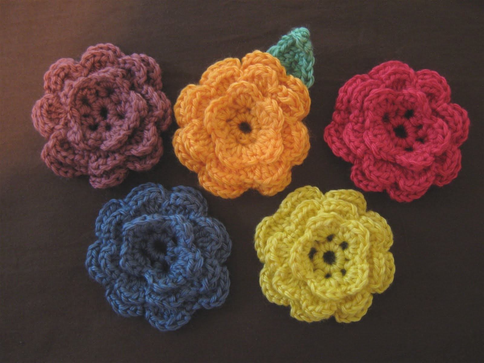 Easy Crochet Flower Best Of 5 Daughters How to Crochet A Flower Of Perfect 42 Models Easy Crochet Flower