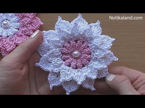 Easy Crochet Flower Pattern New Crochet Flower Tutorial Very Easy Of Beautiful 46 Pictures Easy Crochet Flower Pattern