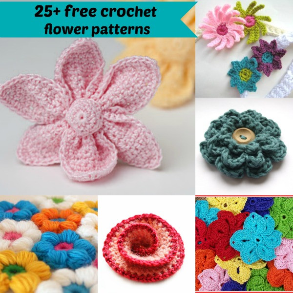 Easy Crochet Flower Pattern Unique 25 Free Easy Crochet Flowers Patterns Of Beautiful 46 Pictures Easy Crochet Flower Pattern