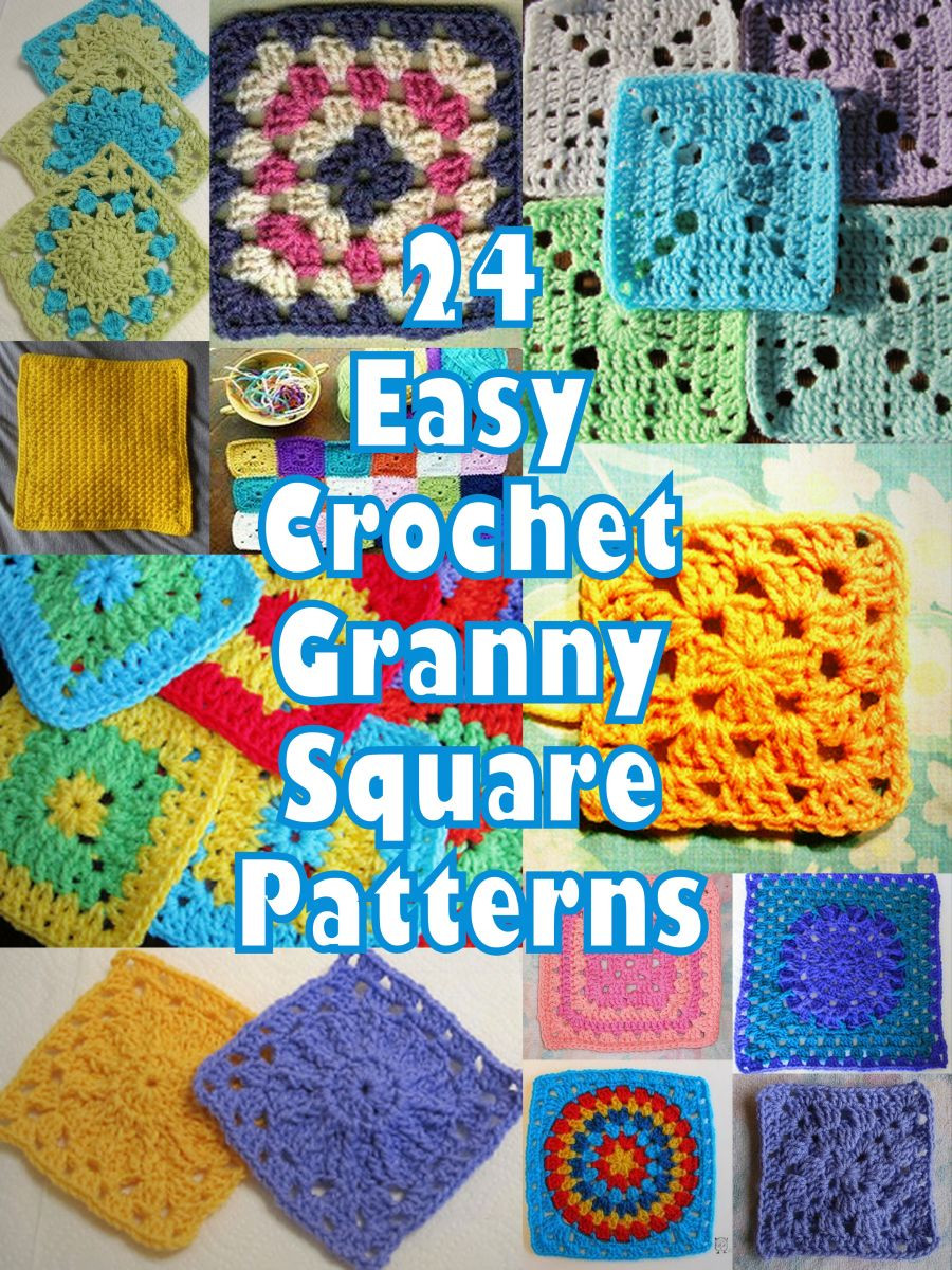 Easy Crochet Granny Squares Free Patterns Awesome How Do I Crochet 13 Basic Crochet Stitches and Free Of Lovely 40 Ideas Easy Crochet Granny Squares Free Patterns