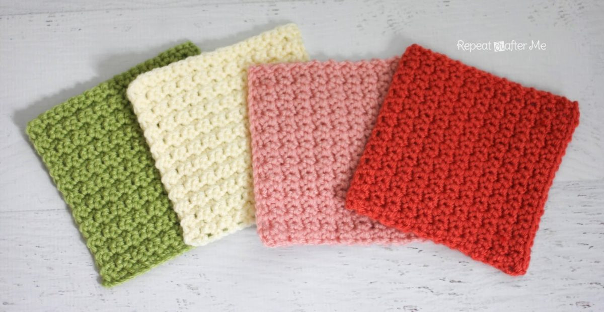 Easy Crochet Granny Squares Free Patterns Awesome solid Granny Square Crochet Pattern Grit Stitch Repeat Of Lovely 40 Ideas Easy Crochet Granny Squares Free Patterns
