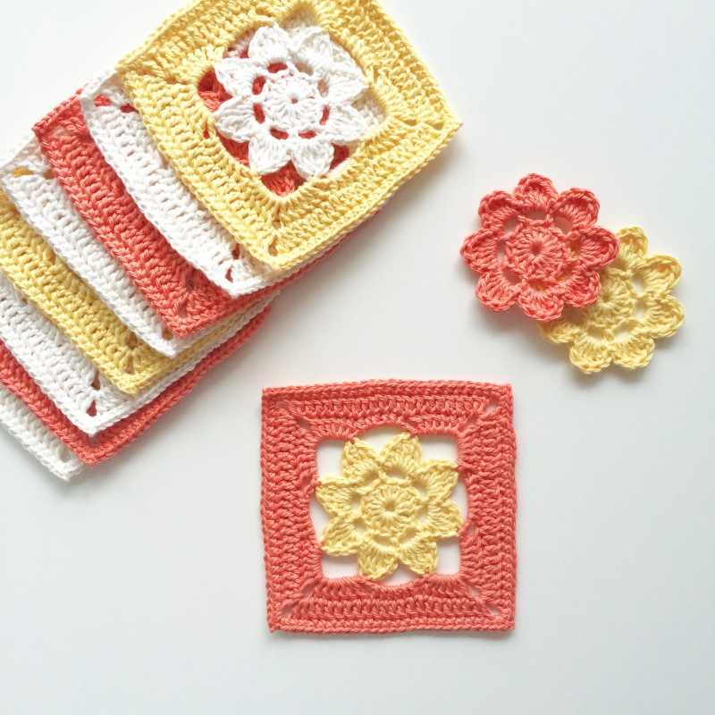 Easy Crochet Granny Squares Free Patterns Inspirational Easy Peasy Flower Squares Free Crochet Pattern Of Lovely 40 Ideas Easy Crochet Granny Squares Free Patterns