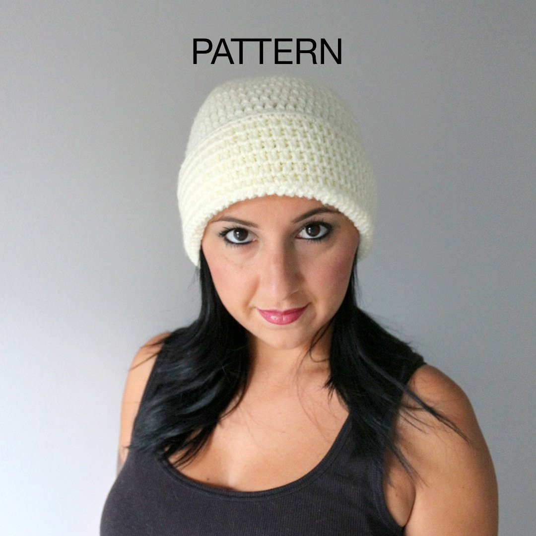 Easy Crochet Hat Awesome Easy Crochet Hat Pattern Wide Brim Hat Pattern Super Of Delightful 50 Models Easy Crochet Hat